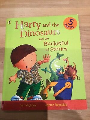 Harry and the Dinosaurs children's story collection book VGC