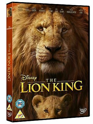 The Lion King DVD [2019, Brand New and sealed]