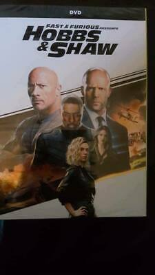 Hobbs and Shaw Fast and Furious DVD