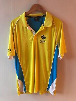 3XL Size Official ICC Champions Trophy 2017 Men/'s Supporter Polo Shirt