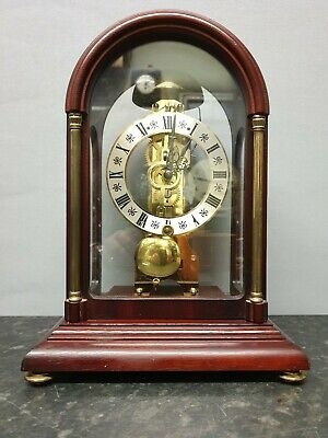 Hermle Skeleton Clock with Pass Through Strike