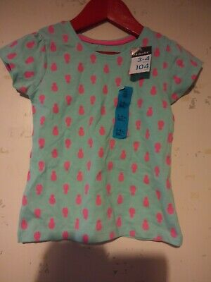 Primark Girls Aged 3-4 Years T Shirt Brand New With Tags