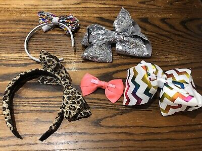 Bundle Of Girls Hair Clips & Headbands