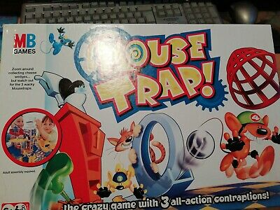 MB Mouse Trap Board Game Age 6+