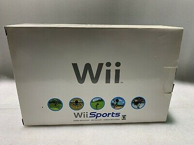 Nintendo Wii Sports White Console System Complete in Box - Very Nice
