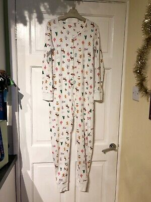 Girls NEXT Christmas all In one nightwear age 12 years