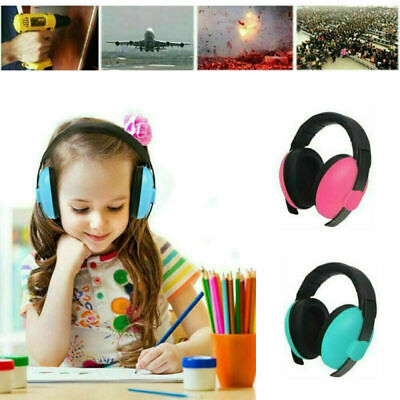 Baby Kids Folding Ear Defenders Muffs Noise Reduction Protectors Children New