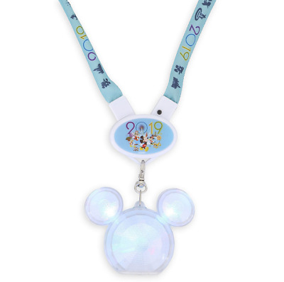 Disney Parks Lanyard - Light Up Mickey Mouse 2019