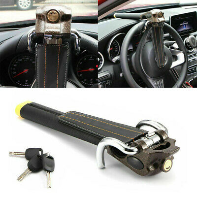 Foldable Steering Wheel Security Lock Vehicle Car Airbag Anti Theft With 3 Keys