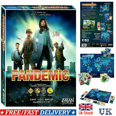 Z-Man Games - The World of Pandemic Board Game Family Party Game New Gift