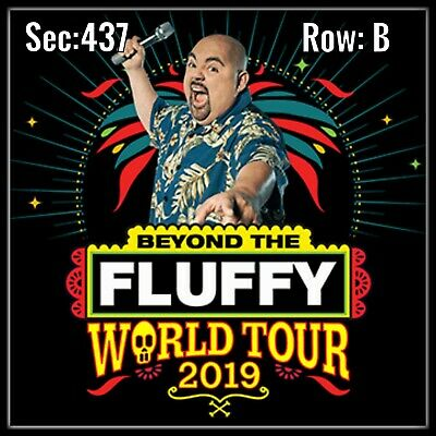 Gabriel Iglesias - Sat, 12/28 - Honda Center, Sec 437 Row B  - 3 Tickets