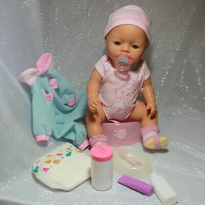 Zapf Creation Baby Born Doll Clothes Potty Accessories Bundle Play Set 2006 💖