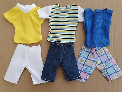 Six Items Of Clothes For Ken (Barbie Boyfriend) Shorts & Tops, Same Day  Postage