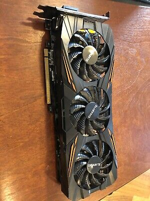 GIGABYTE NVIDIA GeForce GTX 1070 G1 8GB GDDR5 Graphics Card (GV-N1070G1)