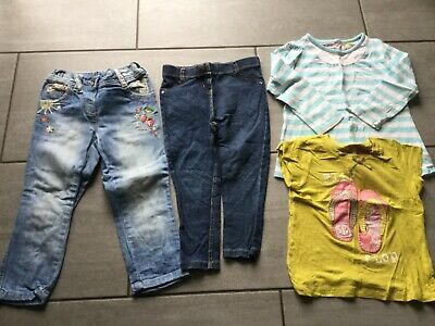 Next Girls Clothes Bundle Trousers & Tops Age 2-3 Years. Great Condition.