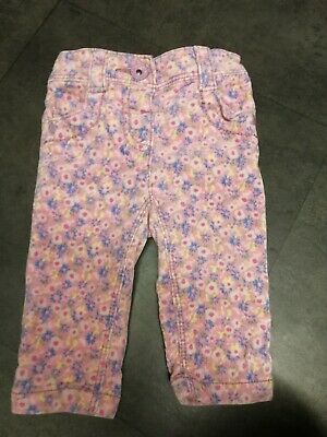 ***NEXT*** Baby Infant Girl Thick Cord Trousers Age 3-6 Months