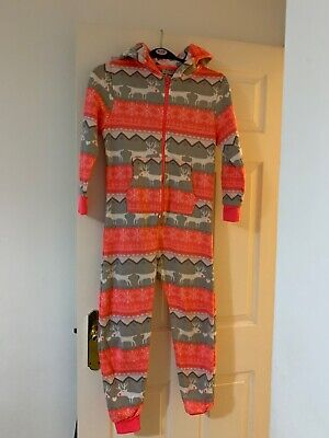 Next Girls Sleepsuit All in One Age 9 years