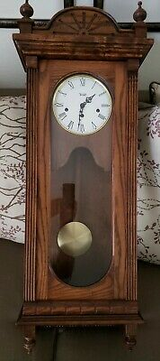 Vintage Centurion Regulator 35 Day Windup Chime Clock