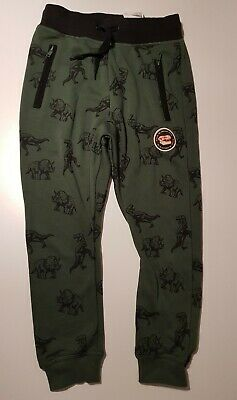 pretty cool outlet on sale cozy fresh BNWT* BOYS H&M Dinosaur Joggers tracksuit bottoms Age 8-9 green ...