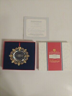 The White House Historical Association 2002 Christmas Ornament Complete in Box!