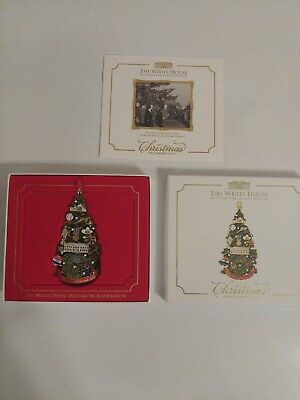 The White House Historical Association 2015 Christmas Ornament Complete in Box!