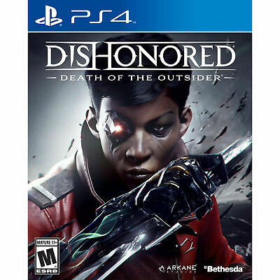 Dishonored: Death of the Outsider PS4 PlayStation 4 Brand New