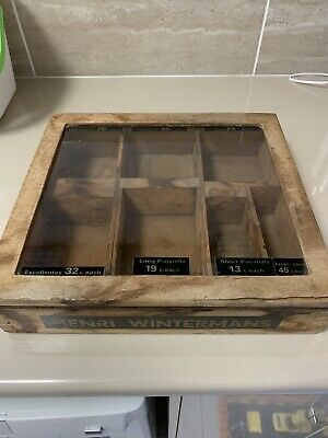 Henri Wintermans Cigars Shop Counter Display Wooden Case