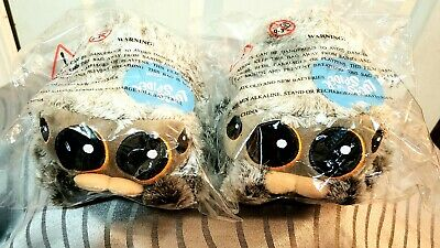 Lucas the Spider Plush Official 1st Edition with Voice-Box Set of (2)