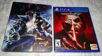 TEKKEN 7 for Sony PlayStation 4 PS4 with steelbook