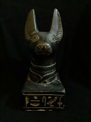 ANCIENT EGYPTIAN ANTIQUES Rare Statue Of God ANUBIS Dead Underworld 1840-1760 BC