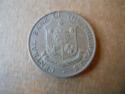 1964 Bank of Philippines 25 Centavos Coin