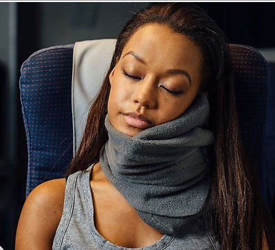 Travel PILLOW Soft Neck Proven Support For Flights Bus Train Office Journey