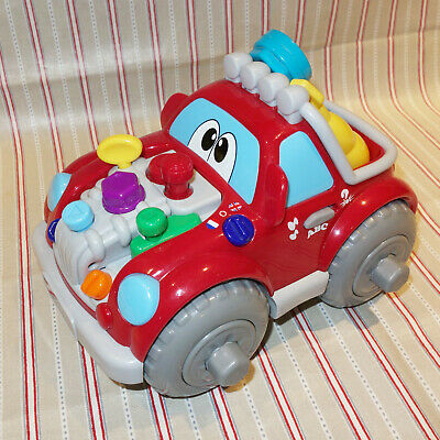 Chicco Talking Mechanic Sound Car, 2-4+ years, Excellent condition, Bilingual