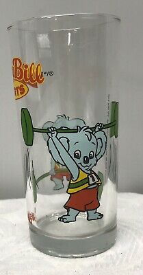 Collectable Nutella Glass Tumbler - Blinky Bill Weightlifting