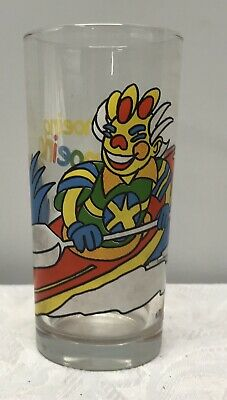 Collectable Nutella Glass Tumbler - Clown Canoeing