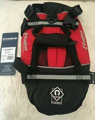 Crewsaver Petfloat, Dog Life Saver Jacket, Flotation Buoyancy Aid size XS