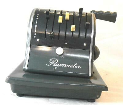 Impresora de cheques The Paymaster  Checkwriter & Protector Series S-1000