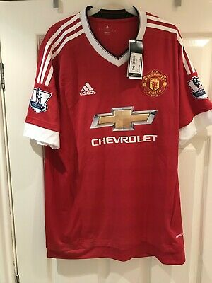 Genuine Manchester United Large Home Football Shirt Still Tagged 'Hakeem 94'