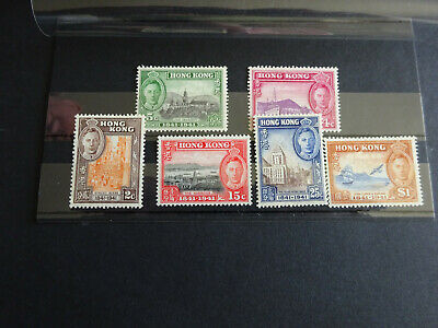 STAMPS KGVI  1941 HONG KONG CENTENARY SET OF 6v UNMOUNTED MINT
