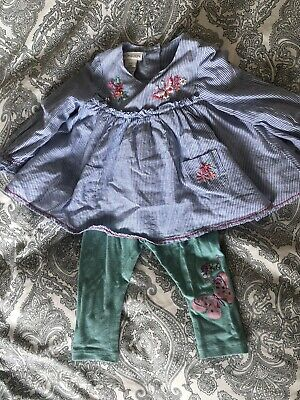 Monsoon Baby Girl Outfit 3-6m