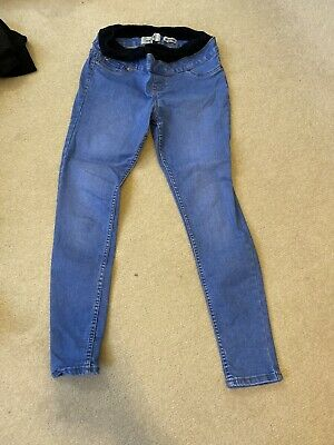 Womens New Look Emilee Over The Bump Maternity Jeans Size 8
