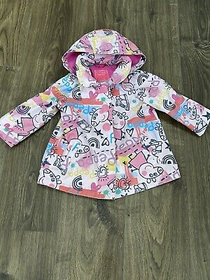 Girls Peppa Pig Coat 18-24 Months From Next