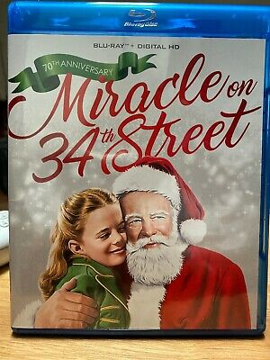 Miracle On 34th Street (Blu-ray Disc, 2017, 70th Anniversary) Christmas