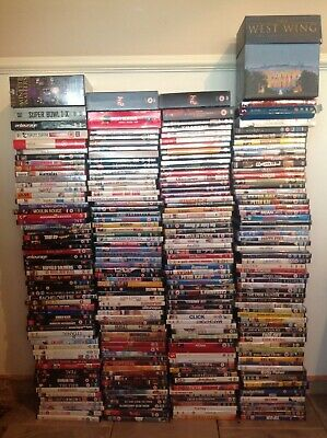 Bulk Bundle  Buy/Job Lot 244 Assorted DVD's And Box Sets All In Good Condition