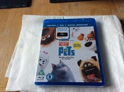 Dvd Blu Ray The Secret Life Of Pets New And Sealed