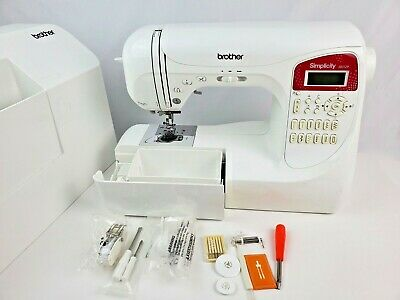 Brother Simplicity Sewing Quilting Machine SB3129 auto needle threader NO Pedal