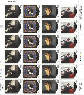 GB Mint MNH High value decimal stamps £49.60 Face Value Gum cheap postage