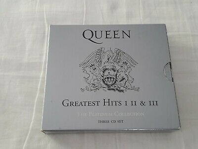 Queen-Greatest Hits I Ii & Iii-The Platinum Collection 3 Cd Set 2000