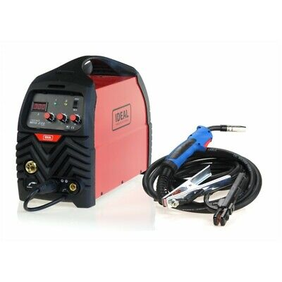 IDEAL TECNO MIG 220 MMA DIGITAL MIG MAG FLUX MMA WELDER 200A GAS & GASLESS I