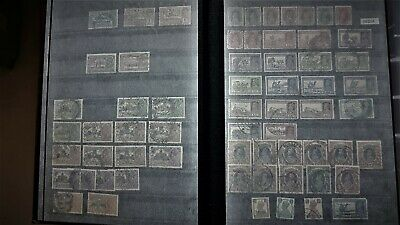 Commonwealth Used Collection Of Stamps INDIA  SOUTH AFRICA in a album